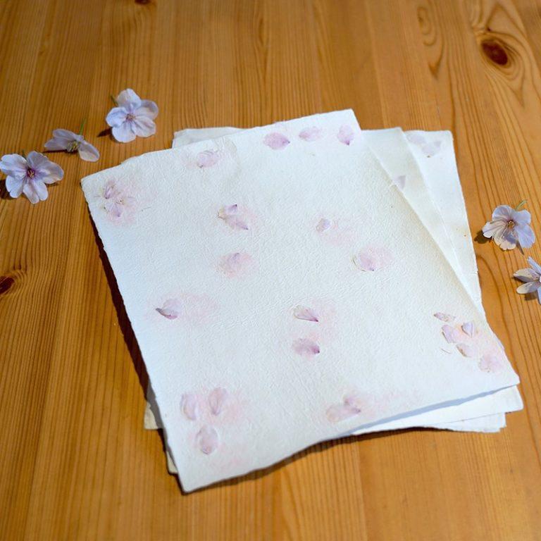 <母の日&数量限定>桜のメッセージカードでありがとうを伝えよう